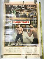 Original 1975 Hard Times Movie 1 sheet Poster 27x41 Charles Bronson James Coburn