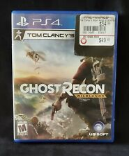 Tom Clancy's Ghost Recon Wildlands (Sony PlayStation 4 PS4) Clean, Free Shipping