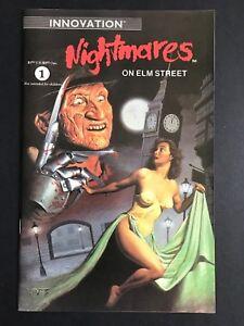 Nightmares on Elm Street #1 (1991) RARE SCARCE 1st Print VF