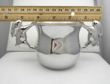 New MARIPOSA bunny cup two-handled mug 100% recycled aluminum Mexico baby rabbit