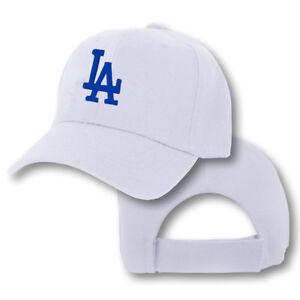 Los Angeles Dodgers Cap Hat Embroidered LA Men Adjustable Curved
