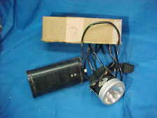 New listing Wwii Us Navy Headlamp Battery Op Spotlight No 802-N w Orig Box