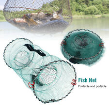 Fishing Pot Crab Fish Crayfish Lobster Shrimp Prawn Eel Live Trap Net Bait Cage