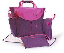 okiedog Mondrian Purple Sumo Nappy / Diaper Bag