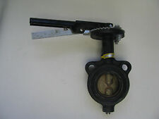 """2-1/2"""" Hammond Butterfly Valve With Locking Handle, Wafer, P/N 6130010212"""