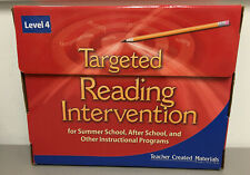 Teacher Created Materials Targeted Reading Intervention Level 4 Kit Home/School