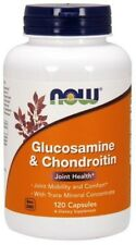 Glucosamine & Chondroitin With Trace Minerals Now Foods 120 Caps