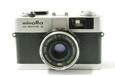 Rangefinder camera Minolta Hi Matic G with Rokkor 38mm F2.8 Ref. 222020