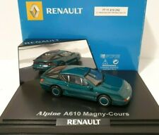 NOREV COFFRET 1/43 Renault Alpine A 610 Magny-Cour Green / Vert