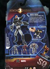 IRON MAN ( RHODEY ) STEALTH OPERATIONS SUIT ( WALMART ONLY) MARVEL ACTION FIGURE