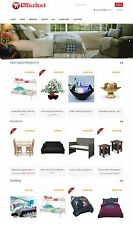 Home Decor Furniture & Lighting  Store - Affiliate Website + Shopping Cart