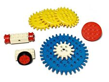 Vintage 1960s Lego Discovery Gears Wheels Axels Large & Small Sizes Samsonite