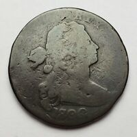 1800 Draped Bust Large Cent S-193 R4 1800/79 Overdate