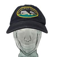 Thirsty Whale Bar Harbor Maine Baseball Cap Hat Cotton Blue OSFM Strap Back