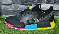 Adidas Originals NMD R1 V2 Men's Trainers Running Shoes Black Red Blue FY1251