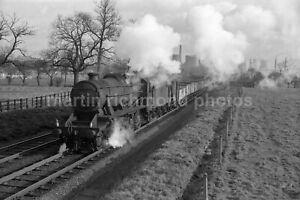 Water Orton Hams Hall Power Station 8F 48694 1962 Railway Negative RN110