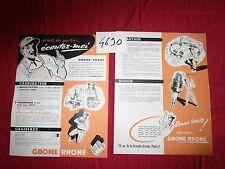 """N°4690 / GNOME RHONE : prospectus technique """"Ecoutez-moi"""""""