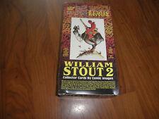WILLIAM STOUT 2 Complete 90 CARD Set-Mint