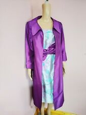 Libra Mother Of The Bride Wedding Dress Suit 2 Two Piece Purple Size UK 16