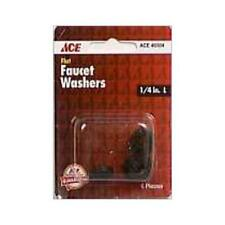 """Ace Flat Faucet Washers, 1/4"""" L, 46104"""