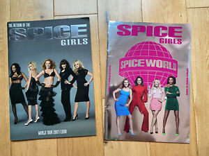 The Return Of The Spice Girls & Spiceworld 2019 Tour Programmes