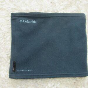 Columbia Fast Trek Blue Fleece Neck Gaiter OS