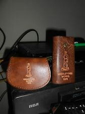 ARMCO 1979 MIDDELTOWN WORKS LEATHER KEY AND COIN HOLDER PURSE