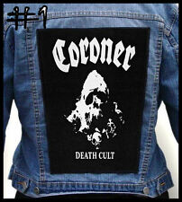 CORONER  --- Huge Jacket Back Patch Backpatch --- Various Designs