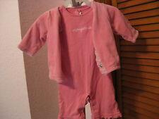 Pottery Barn Kids 3 pc Jacket, Onezy & Hat Set Size 0-3 Months NEW