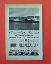D214 - Advertising Pubblicità - 1953 - AMERICAN EXPORT LINES