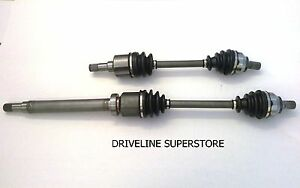 FORD FOCUS  LS LT LX  06/2005-2010 SET OF TWO  BRAND NEW CV JOINT DRIVE SHAFTS