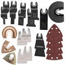 44Pcs Oscillating Multi Power Tool Saw Blades Kit For Fein Multimaster Craftsman