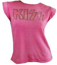 getragen AMPLIFIED Official KISS Strass Rock Star Vintage T-Shirt g.S 34/36