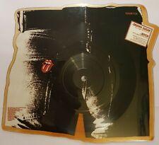 """ROLLING STONES """"BROWN SUGAR"""" UK PIC 7"""" 1984 SUGAR P1A"""