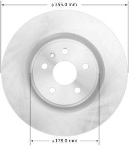 Silent Stop SB580756 Disc Brake Rotor-Front