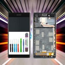 PANTALLA PARA Original Sony Xperia Z3 PLUS Z4 LCD Táctil Marcos Negro