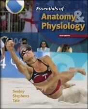 Essentials Of Anatomy & Physiology SIP NEW HC Book Seeley Stephens Tate Textbook