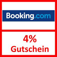 BOOKING.com # 4% Gutschein für jede Unterkunft # z.B. Wien, Salzburg, Graz