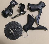 Shimano SORA Component Set STI Lever Sprocket FD RD Bicycle Road Bike Used