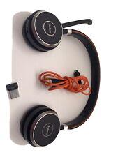 Jabra Evolve 65 On the Ear Bluetooth Wireless Headset - Black