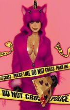 THE RIDE: BURNING DESIRE #1 ADAM HUGHES Pink Virgin Variant Limited To 500 NM