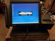 Micros Workstation 5A Pos Terminal Bundle with Printer and Cash Drawer