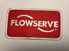 FlowServe Flow Serve Machinery Company Industry Mechanical Logo Pumps Patch F
