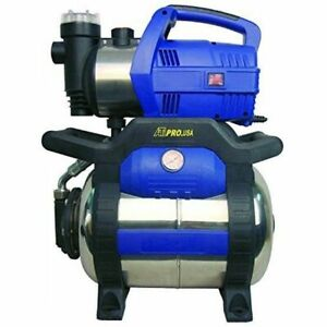 1 HP Heavy Duty Water Transfer Pump Shallow Well Pump with Tank