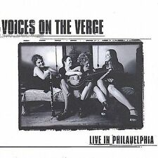 Voices on the Verge Live in Philadelphia 2001 Ryko Distribution CD