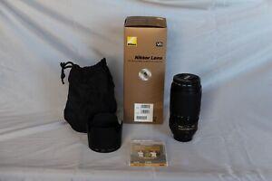 Nikon AF-S VR Zoom-Nikkor 70-300mm f/4.5-5.6G IF-ED Lense