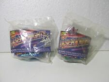 Wendy's Set Of 2 Laser Knights Kids Meal Toy t5334