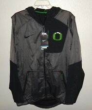 NWT MENS L LG NIKE OREGON DUCKS FOOTBALL TEAM VELO FLY RUSH JACKET $160 VELOCITY