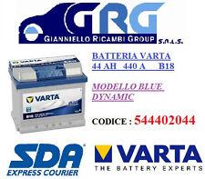 BATTERIA AUTO VARTA 44AH 440A DI SPUNTO B18 POSITIVO A DESTRA - 544402044