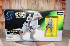 Luke Skywalker With Taun Taun Star Wars Power Of The Force 2 1997 Box